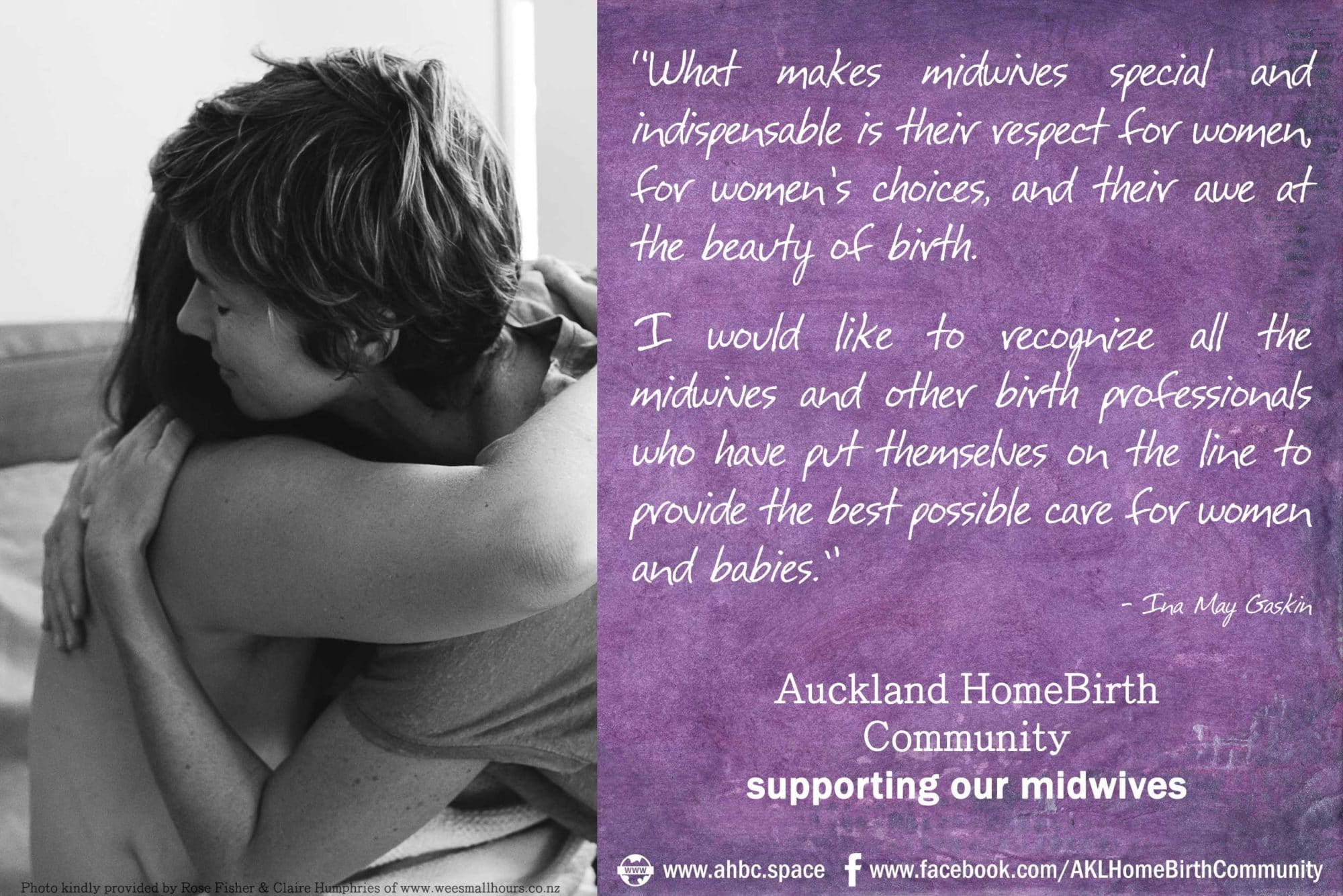 AHBC Supporting Midwives