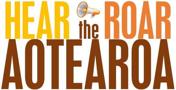 Hear the Roar Aotearoa logo